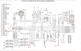 mercury wire diagram mercury outboard wiring harness diagram