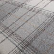 Upholstery Materials Uk Tartan Plaid Grey Wool Curtain And Upholstery Fabric Iona Flint