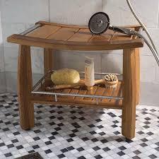 bench excellent best 20 teak shower stool ideas on pinterest in