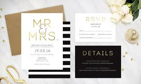 wedding invitation suites 15 metallic foil invitations southbound