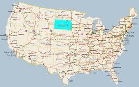 usa map south states south dakota state information symbols capital constitution