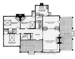 bungalow style floor plans bungalow style home plan