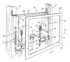Plumbing Rough by Patent Us7204267 Modular Rough In Plumbing Accessary Google