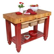 fantastic kitchen island cart with butcher block top from john