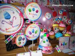 candyland party ideas printable candyland party supplies candy themed