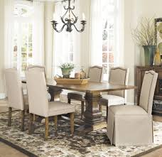 Coaster Dining Room Chairs Coaster Parkins 7 Dining Table And Chair Set With Parson