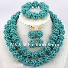 beads design necklace images Wholesale african costume jewelry set 2018 new design handmade jpg
