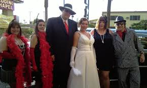 themed weddings las vegas gangster themed weddings a mob hit viva las vegas