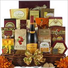 wine gift basket thanksgiving wishes gourmet thanksgiving wine gift basket