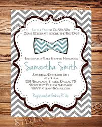 bow tie baby shower invitations baby shower invitation boy bowtie baby boy shower