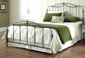 king iron bed frame image of king iron bed frame king metal bed