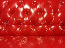 glossy red leather sofa stock photo picture and royalty free