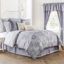 bed bath and beyond norfolk waterford linens veranda reversible comforter set bed bath