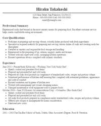 Chef Resume Samples by Chef Resume Examples Writing Resume Sample Writing Resume Sample