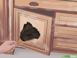 how to clean black laminate kitchen cabinets 3 ways to clean laminate cabinets wikihow