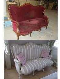 canape voltaire canapé ancien revisité canapé avant après vous avez relooké un