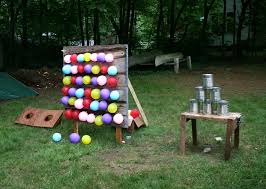 Diy Backyard Games by Diy Games Made The Tin Can Game For The 2013 Family Reunion