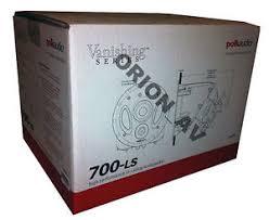 3 Way Ceiling Speakers by Polk Audio 700 Ls 3 Way Vanishing Dual Port In Ceiling Speaker