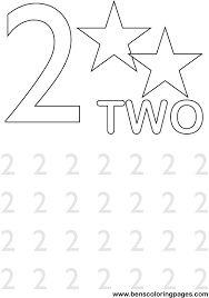 number 2 coloring pages preschoolers get coloring pages