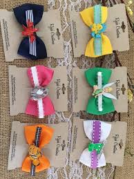 tinkerbell ribbon disney inspired 2 5 bow tie bow with ribbon lined alligator clip