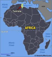 tunisia on africa map map of tunisia facts information beautiful world travel guide