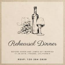 Rehearsal Dinner Invites Invitation Maker Design Your Own Custom Invitation Cards