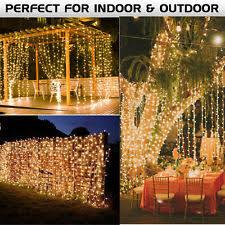 Indoor Curtain Fairy Lights Curtain Fairy Lights Ebay