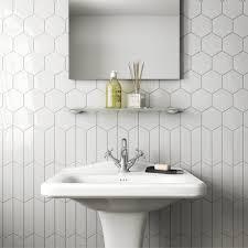 white matt 11 6cm x 10cm porcelain floor tile
