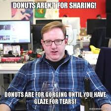 Donut Memes - i had to make this matt bellassai quote into a meme totally