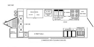 Floor Plan Of A Business Food Truck Floor Plan Glamorous Food Truck Floor Plan Pool