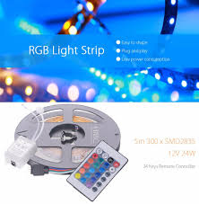 Led Light Strip Controllers by Hml 5m Rgb Led Light Strip 6 62 Online Shopping Gearbest Com