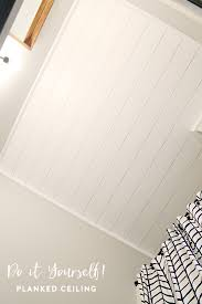 Bathroom Ceilings Iheart Organizing Do It Yourself Planked Ceiling