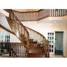 Wooden Banister Wooden Staircase Railing At Rs 750 Foot Wooden Railing Id