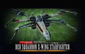 Squadron Canopies by Bandai 210522 Star Wars Red Squadron X Wing 1 72 U0026 1 144 Scale