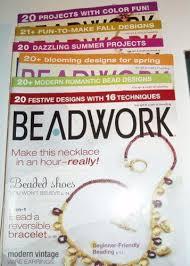 beading magazines ebay