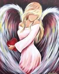 angel with heart u2026 pinteres u2026