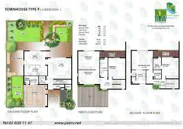 Town House Plans Floor Plans Yasmina U2013 Al Raha Gardens