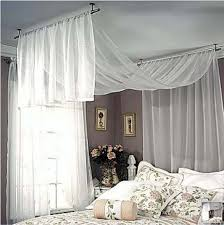 Hang Curtains From Ceiling Hang Curtain Rod From Ceiling Neiltortorella Bedroom Decor