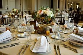 Wedding Table Linens Catholic Ceremony Garden Inspired Reception At Chicago Museum