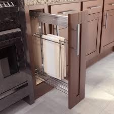 kitchen cabinet towel rail pull out towel rack kitchen storage pinterest towel storage