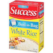 ray rice halloween mask success white boil in bag 6 ct rice 21 oz box walmart com