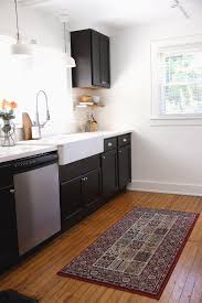 Corner Sink Kitchen Rug Kitchen Home Floor Mats Rugs For Kitchens Kitchen Area Corner