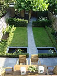 Small Garden Design Ideas Pictures Smalle Kleine Moderne Tuin Met Vijvers En Groen Strak En Alles