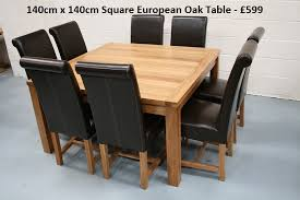 Square Dining Room Table For 4 Stylish 8 Seater Dining Table And Oak Dining Sets For 4 Oak Dining
