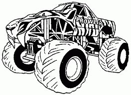 magnificent monster truck coloring pages allmadecine weddings