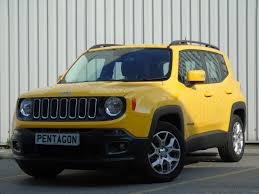 jeep yellow used jeep renegade yellow for sale motors co uk