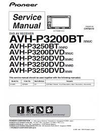 wiring diagram pioneer avh p3200bt u2013 the wiring diagram