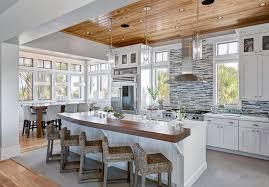 cuisine avec ilots cuisine avec ilot central deco maison moderne