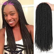 micro crochet hair 2018 6 packs 18inch crochet hair with kanekalon synthetic japanese