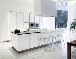 hauteur bar cuisine hauteur bar cuisine élégant 53 variantes pour les cuisines blanches